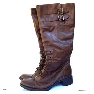 Rockport Boots Leather Size 8